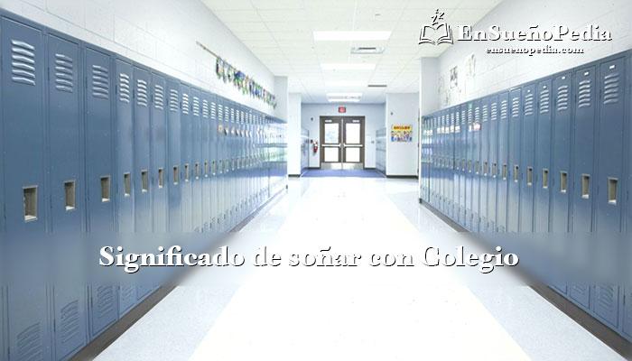 significado-sonar-con-colegio