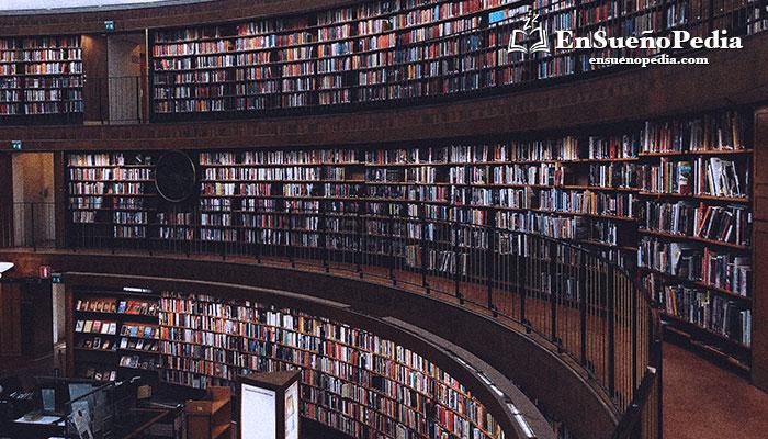 significado-sonar-con-biblioteca